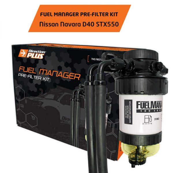 fuel manager pre-filter navara d40