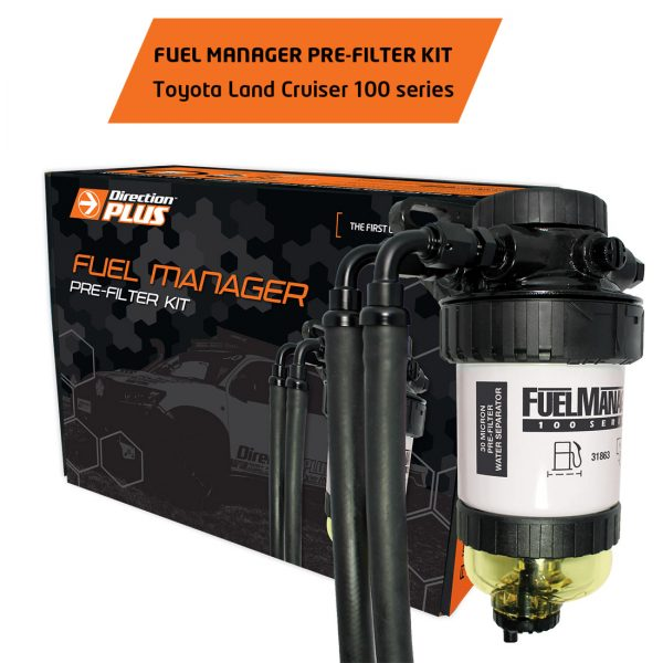 fuel manager pre-filter land cruiser 100 series