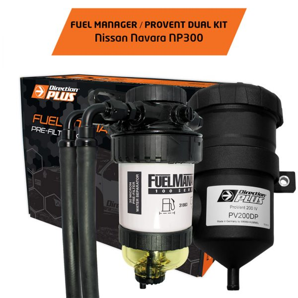 fuel manager pre-filter / provent navara np300
