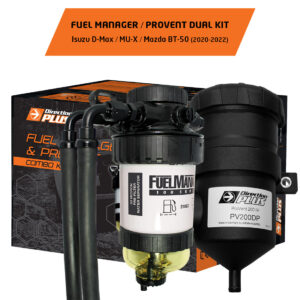 product image fuel manager / Provent dual kit d-max bt-50 2020-2021