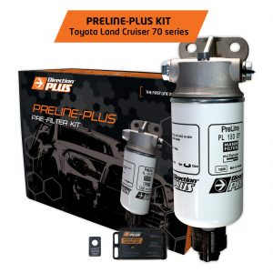 preline-plus pre-filter land cruiser 70