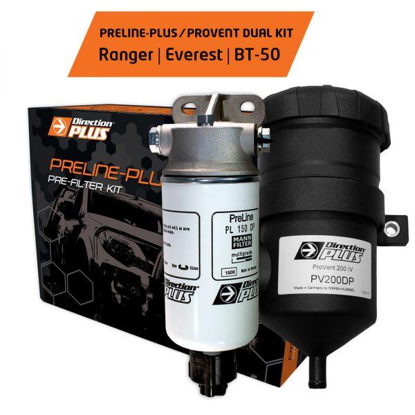preline-plus + provent ranger everest bt-50