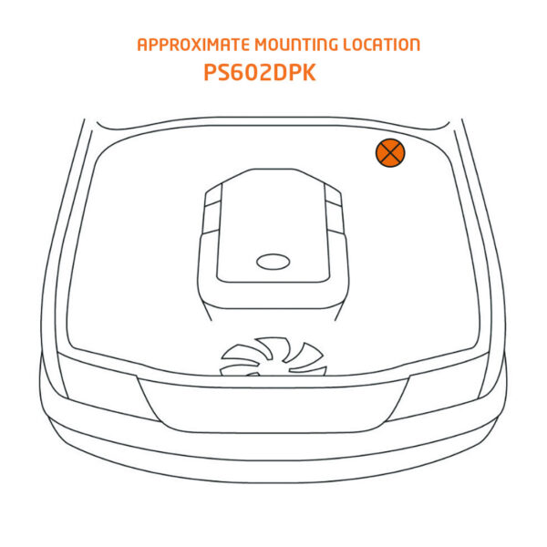 ps602dpk mounting location