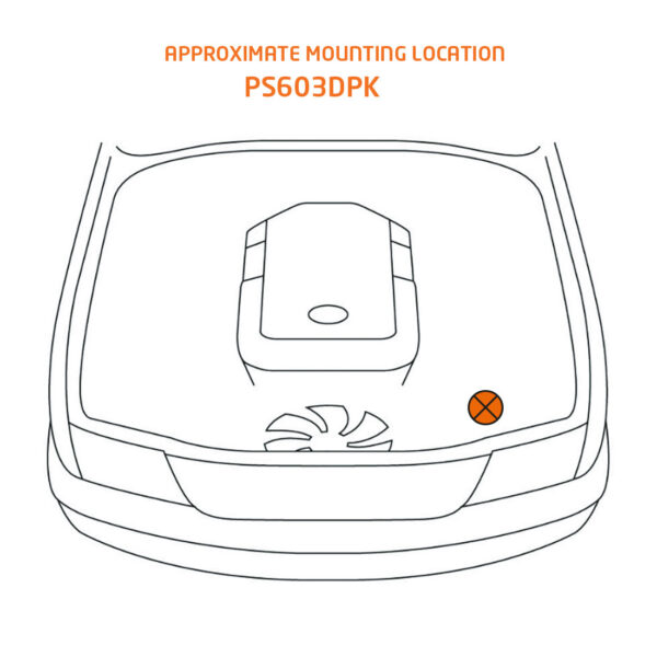 ps603dpk mounting location