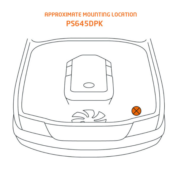 ps645dpk mounting location