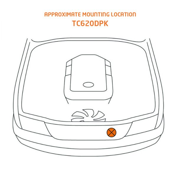 tc620dpk mounting location