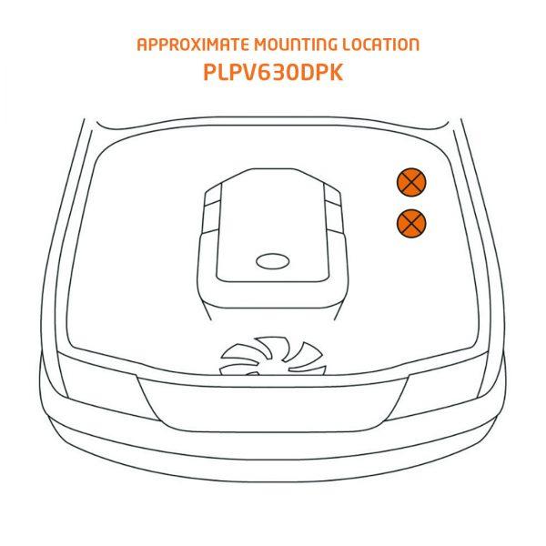 mounting location plpv630dpk