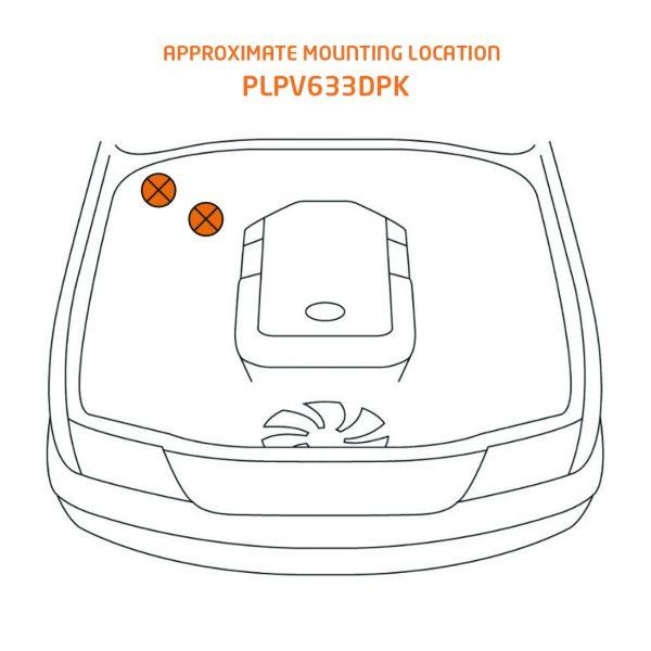plpv633 mounting location