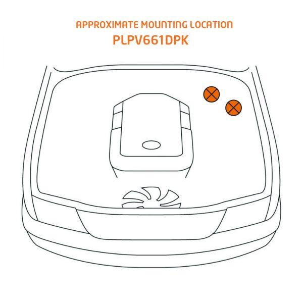 plpv661dpk mounting location